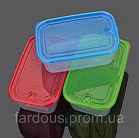 Контейнер пищевой прямоугольный с герметичной крышкой
