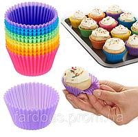 Набор силиконовых форм для выпечки кексов