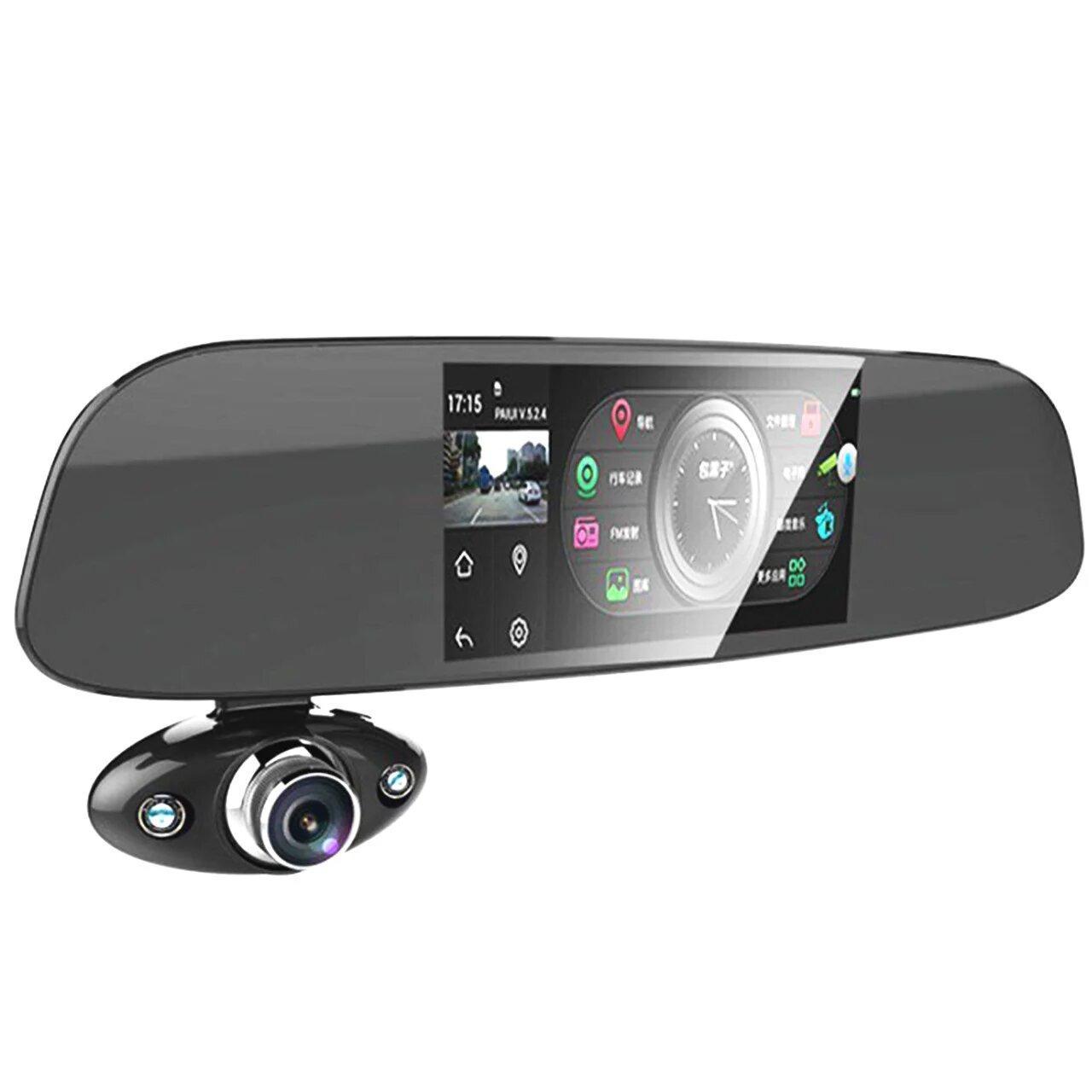 Дзеркало реєстратор 5 Anytek B33 Vehicle Blackbox дві камери g-сенсор 5 Мп (3934-11406)