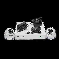 БО Комплект відеоспостереження GreenVision GV-K-S15/02 1080P