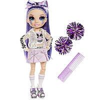 Кукла Радуга Рейнбоу Хай Чирлидир Виолетта Rainbow High Cheer Violet Willow Фиолетовая