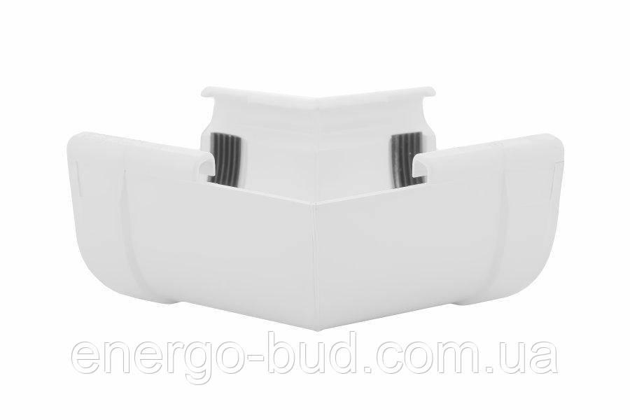 Кут внутрішній Profil 130 білий W 135°