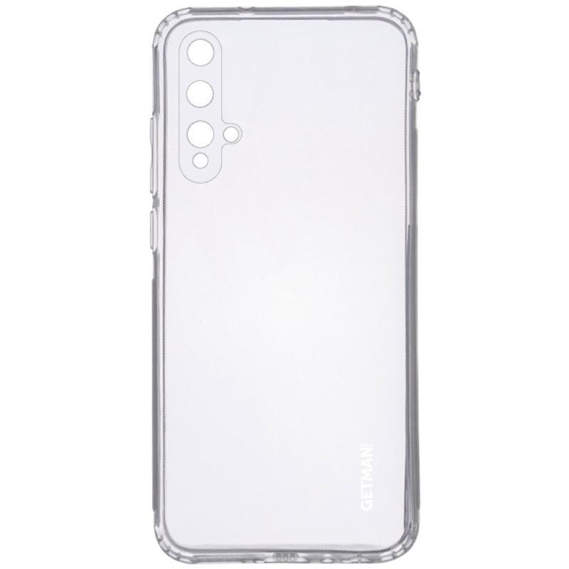 TPU чехол GETMAN Clear 1,0 mm для Huawei Honor 20 / Nova 5T