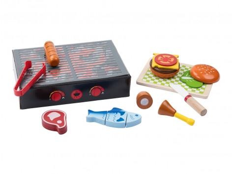 Деревянный игрушечный гриль PlayTive 13 эл Германия