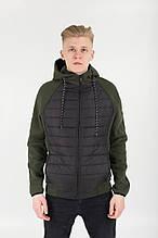 Мужская куртка демисезонная на силиконе Ф