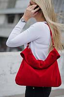 7b09119c6029 My Furs магазин по пошиву меха и кожи. Ивано-Франковская область. 99%  положительных отзывов. (214 отзывов) · Большая замшевая красная сумка с  отворотом