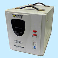 Стабилизатор напряжения электромеханический FORTE SDC-5000VA (5 кВт), фото 1