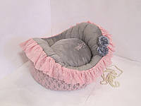 Лежак Baby pink