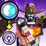 Трансформер Wildwheel Transformers Кибервселенная Оригінал від Hasbrо, фото 3