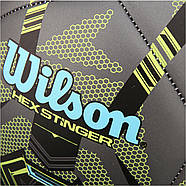 Wilson Hex Stinger Soccer Ball М'яч Вілсон футбольний ігровий розмір 5, фото 4