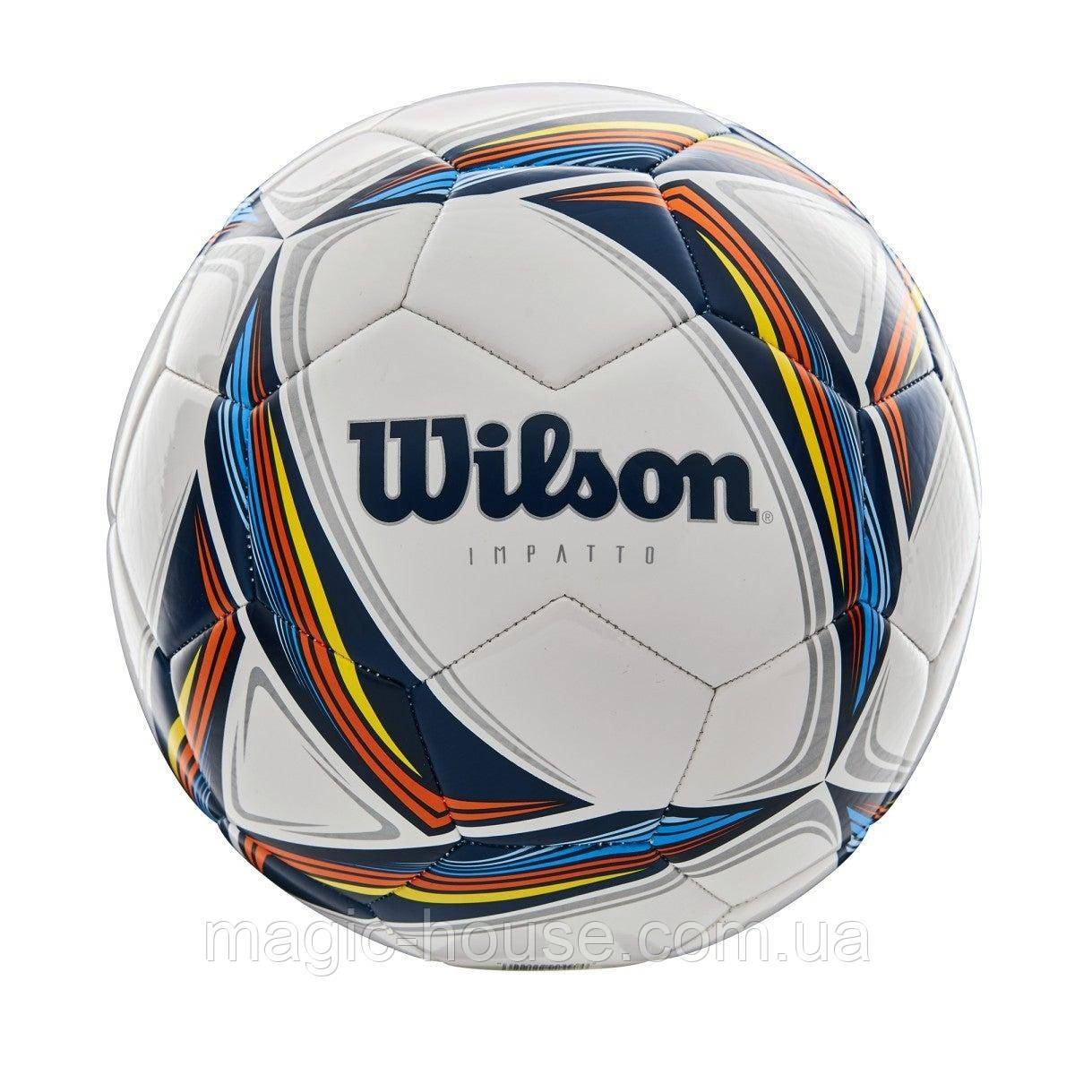 WilsonImpatto Soccer Ball М'яч Вілсон футбольний ігровий розмір 5