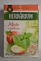 Чай Herbarium мята и яблоко 30 пакетиков, Польша