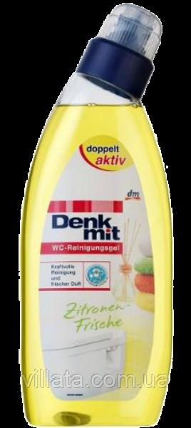 Гель усиленного действия для уборки в туалете «Лимон»  Denkmit 750 ml
