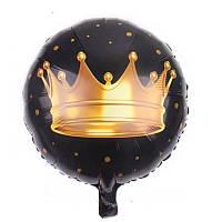 Куля фольгований Корона