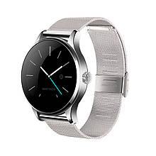Розумні годинник Lemfo K88H з пульсометром Сріблясті (swlemk88hsi)