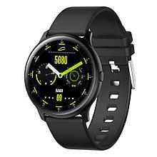 Розумні смарт годинник King Wear KW13 з AMOLED дисплеєм і вологозахист IP68 Чорний (swkingwkw13bl)