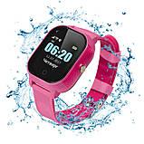 Дитячі смарт-годинник Lemfo DF50 Ellipse Aqua з GPS трекером Рожевий (swjetdf50pink), фото 4