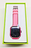 Дитячі смарт-годинник Lemfo DF50 Ellipse Aqua з GPS трекером Рожевий (swjetdf50pink), фото 5