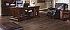 1206 Дуб тёмно-коричневый - ламинат 33 класс 12 мм, коллекция Penthouse ( Пентхаус) Rooms (Румс)  , фото 2
