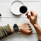 Розумні годинник Lemfo F16 з кардиодатчиком Чорний (swlemf16bl), фото 6