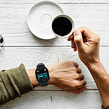 Умные часы Lemfo F16 с кардиодатчиком Черный (swlemf16bl), фото 6