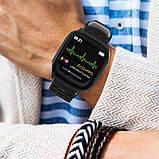 Розумні годинник Lemfo F16 з кардиодатчиком Чорний (swlemf16bl), фото 7