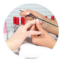 Классический маникюр без покрытия - глубокая чистка ногтей (обрезной маникюр)