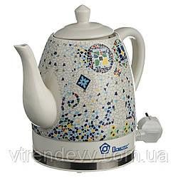 Чайник керамический Domotec MS-5053 1,5 литра 1500W