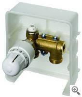 Термостатические вентили для напольного отопления