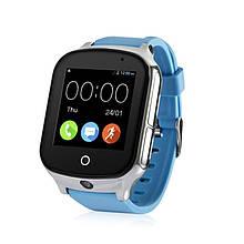 Детские смарт-часы Wonlex GW1000S с поддержкой 3G сети Голубой (swwongw1000sble)