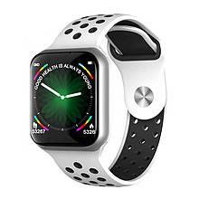 Розумні смарт-годинник Smart Watch F8 Classic Білий (swf8classicwh)