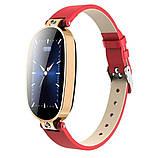 Розумні годинник фітнес браслет Finow B79 з вимірюванням тиску та ЕКГ Червоний (ftfinb79), фото 2