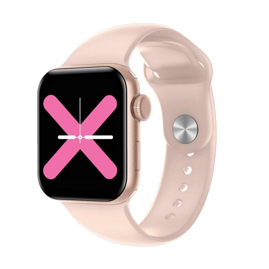Розумні годинник Linwear LW15 з пульсоксиметром і тонометром Рожевий