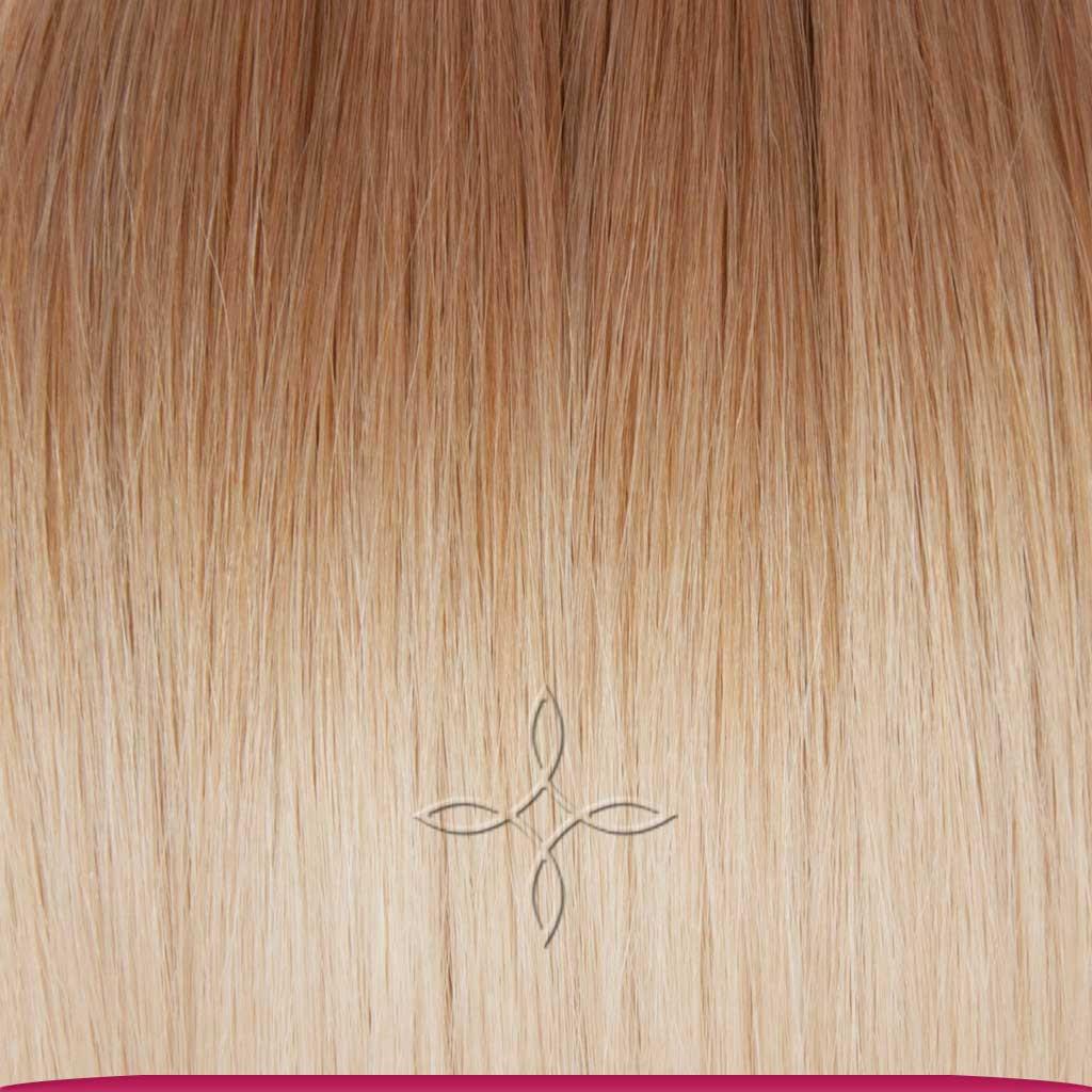 Натуральные Славянские Волосы на Капсулах 60 см 100 грамм, Омбре №09-60