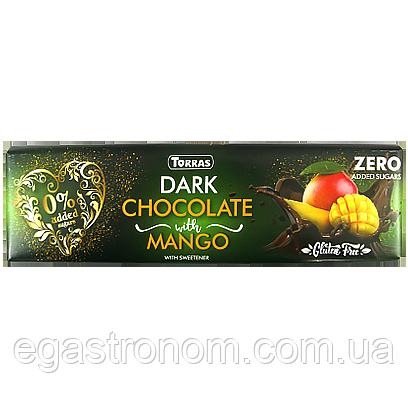 Шоколад Торрас чорний з манго Torras dark mango 300g 15шт/ящ (Код : 00-00005621)