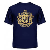 Майка футболка с украинской символикой Трезубец