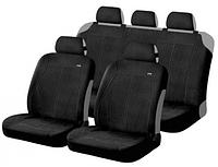 Авточехлы Hadar Rosen FOX (REPLAY) полный комплект на салон, цвет: черный