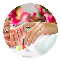 Покрытие ногтей гель-лаком (KODI, KOTO и др.) в один тон