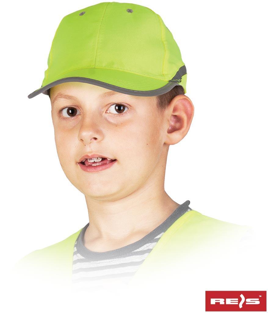 Флуоресцентна бейсболка для дітей CZFLUO-KIDS SE