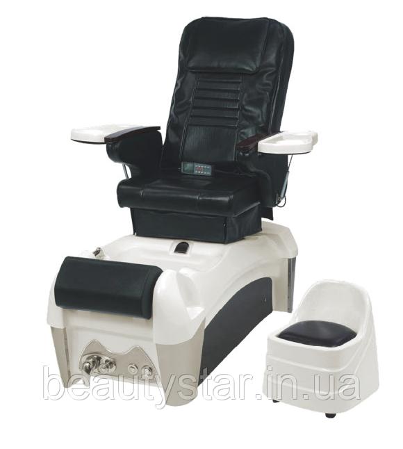 SPA-педикюрное кресло для педикюра кресла с механизмом реклайнера + массаж + ванночка для педикюра   ZD-904