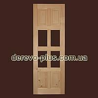 Двері з масиву дерева 70см (під скло) s_05701