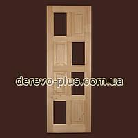 Двері з масиву дерева 70см (під скло) s_05702