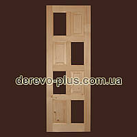 Двері з масиву дерева 70см (під скло) s_05703