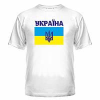 Украинская футболка патриотический принт