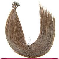 Натуральные славянские волосы на капсулах 65-70 см 100 грамм, Шоколад №05