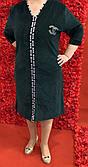 Халат жіночий велюровий (54 розмір)