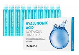 Увлажняющий филлер для волос с гиалуроновой кислотой FarmStay 13мл