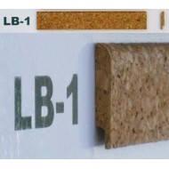 Профіль-закінчення корковий з фаскою LB2 2см*0,9м