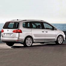 Молдинги на двери для Volkswagen Sharan 2010-2015, lift 2015+