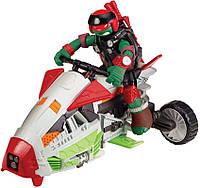Боевой транспорт трансформер с фигурой серии Черепашки Ниндзя Квадроцикл и эксклюзивная фигурка Рафа
